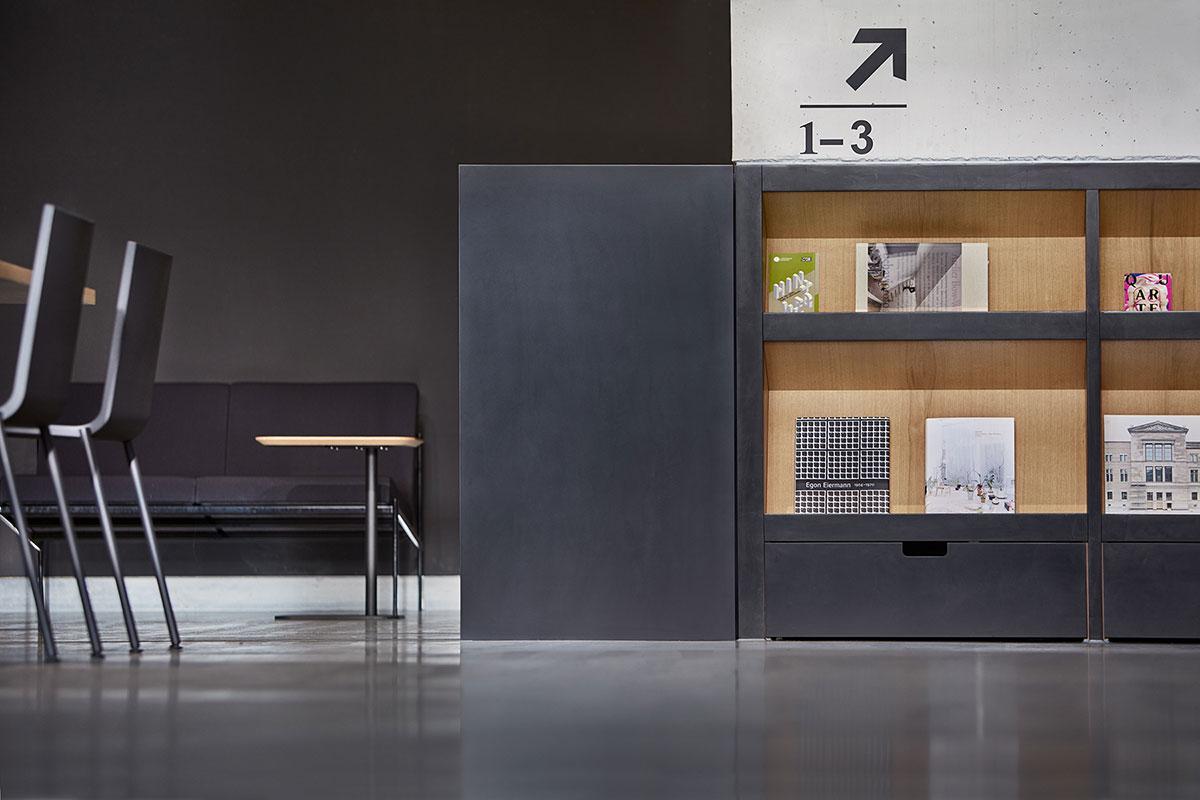 Dizajn interijera dizajnerskog ureda sa sjedištem u Stuttgartu L2M3