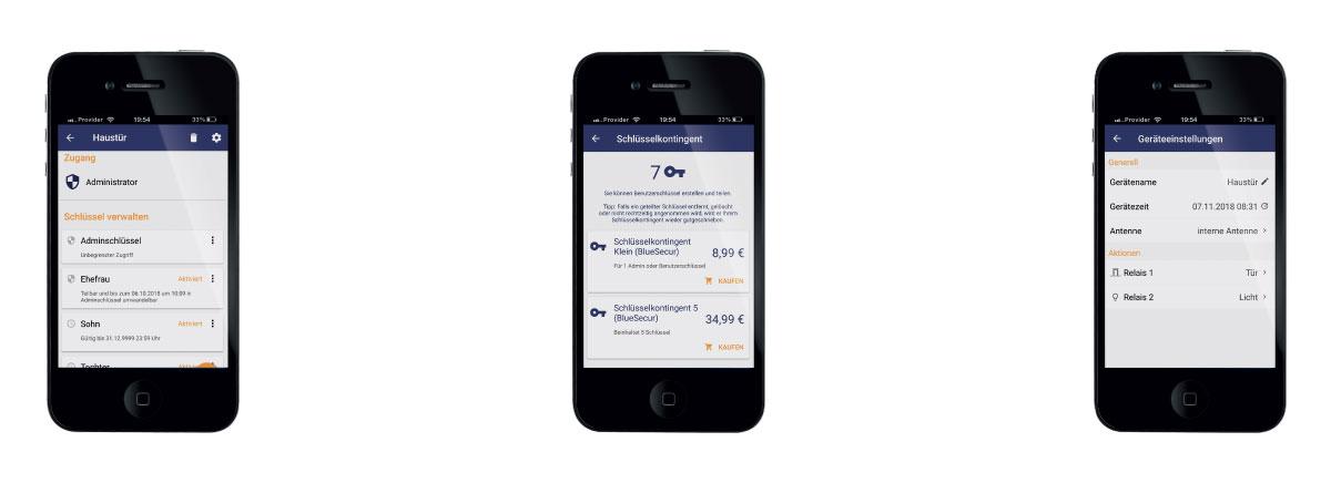 Preuzimanje aplikacije BlueSecur besplatno je za iOS i Android sustave za pametne telefone i tablete