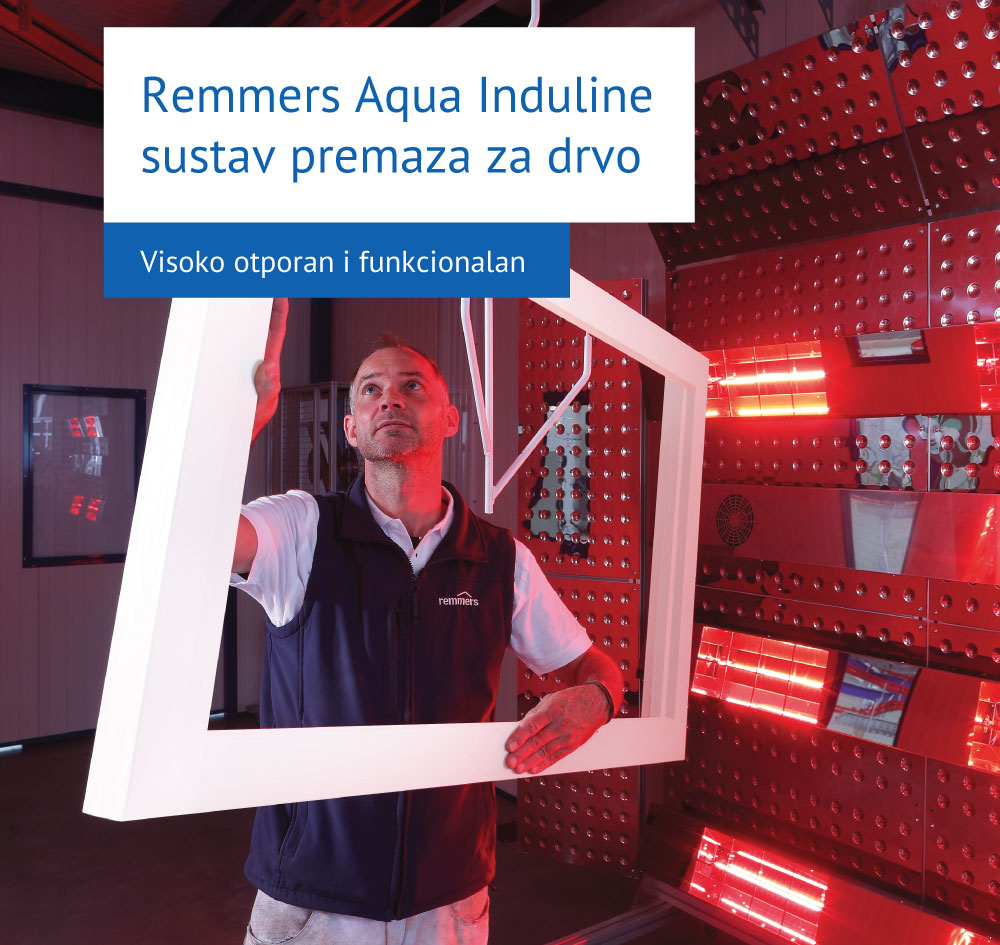 Remmers Aqua Induline sustav premaza za drvo