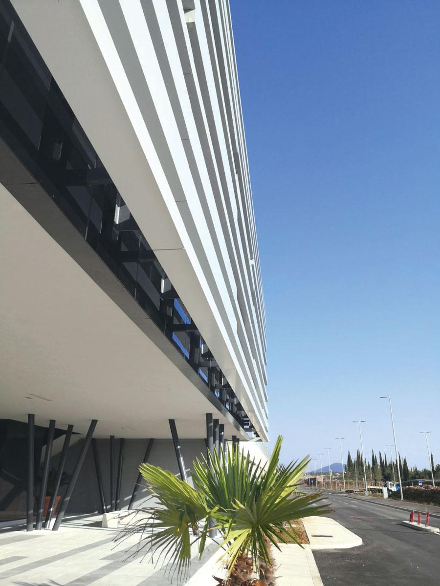 TEHNOMARKET / Zračna luka Dubrovnik, VIP terminal, Hrvatska
