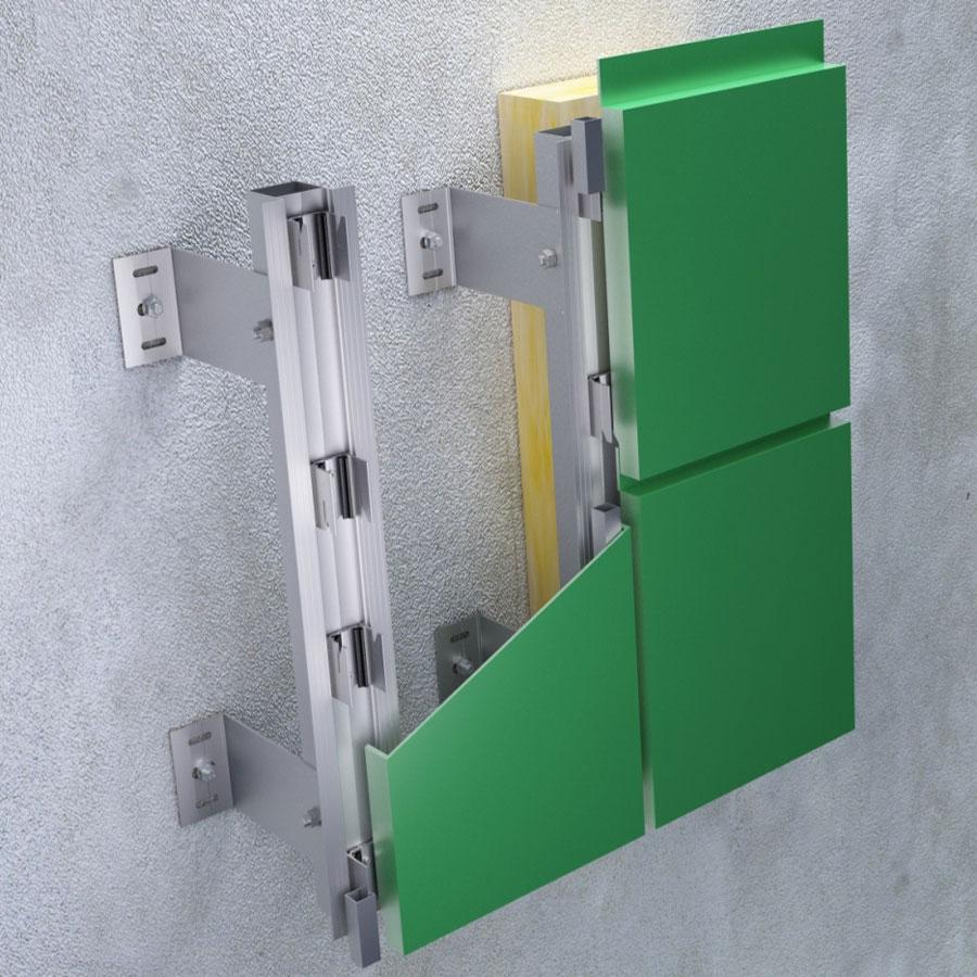 Tehnomarket VENT – fasadni sistem podkonstrukcije