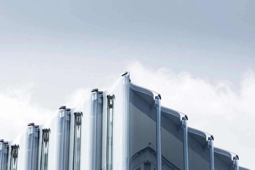 3D staklo na fasadama