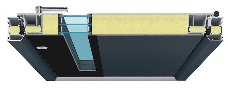 Foradur made by Puren gradjevinski materijali presek vrata