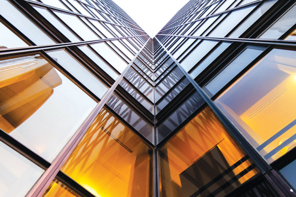 Moderne staklene fasade imaju općenito poboljšane performanse