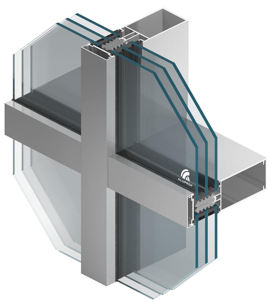 Najnovije rješenje tvrtke ALUPROF - fasada MB-SR60N