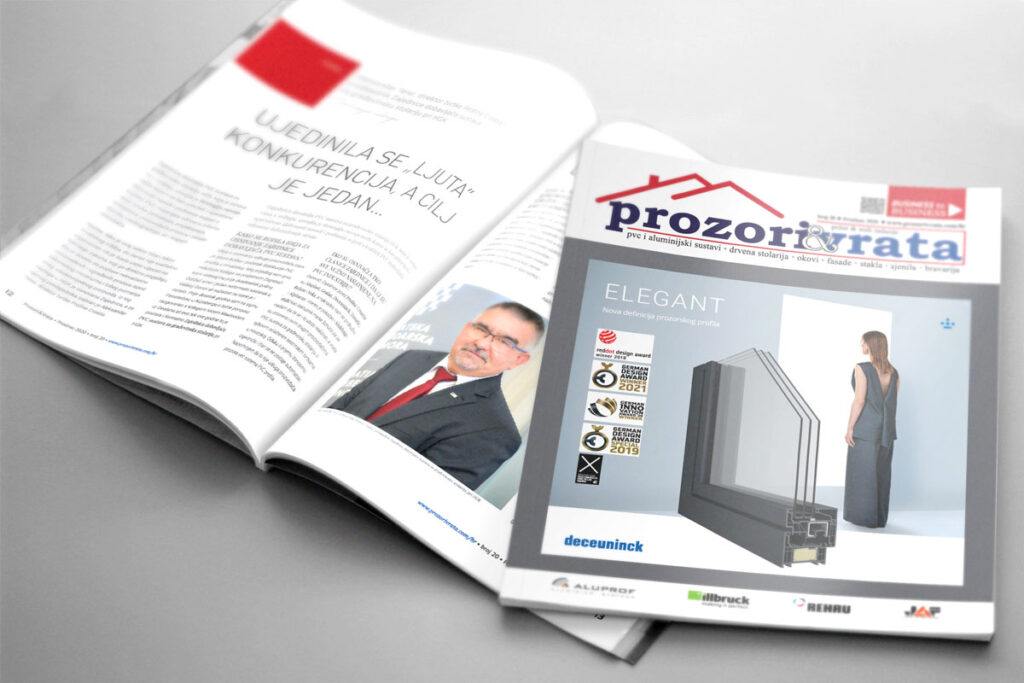 Časopis PROZORI&VRATA broj 20, prosinac - Hrvatska