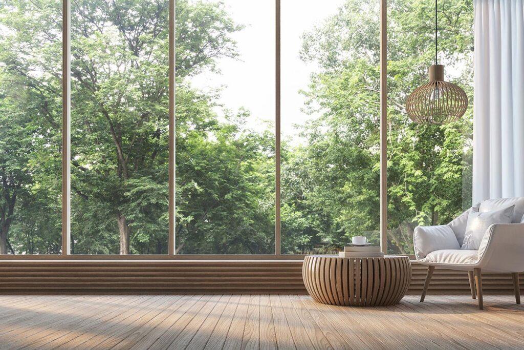 Lak s prirodnim efektom NW-740/05 daje elementima od masivnog drva nezamjenjiv, bezvremenski izgled u sivim nijansama / foto: Remmers