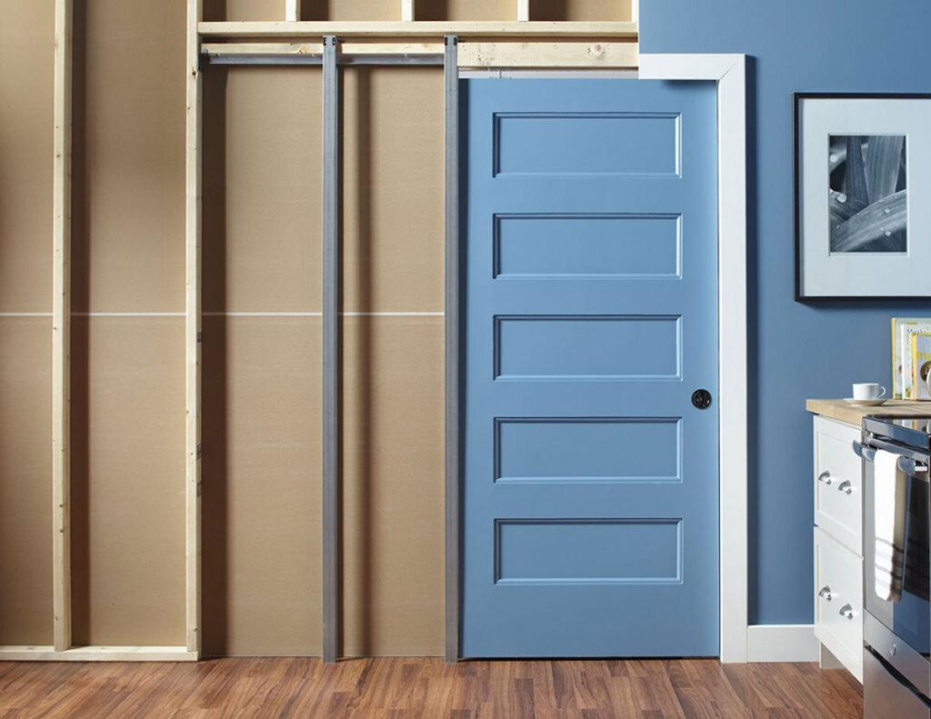 Pocket door system sobna vrata