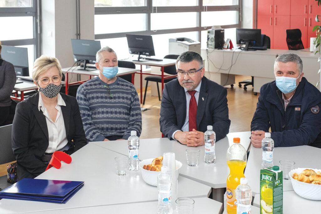 foto: Mirjana Čagalj, Ivica Beloglavac, Aleksandar Terer i Boris Šimić