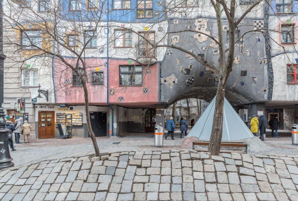 Hundertwasserhaus Austrija