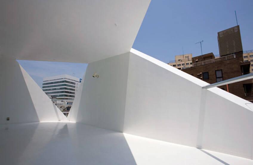Detalj minimalističke kuće