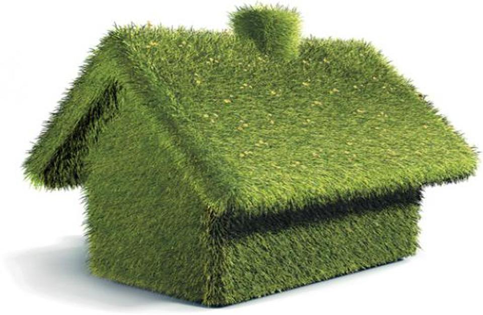 Zeleni građevinski materijal.