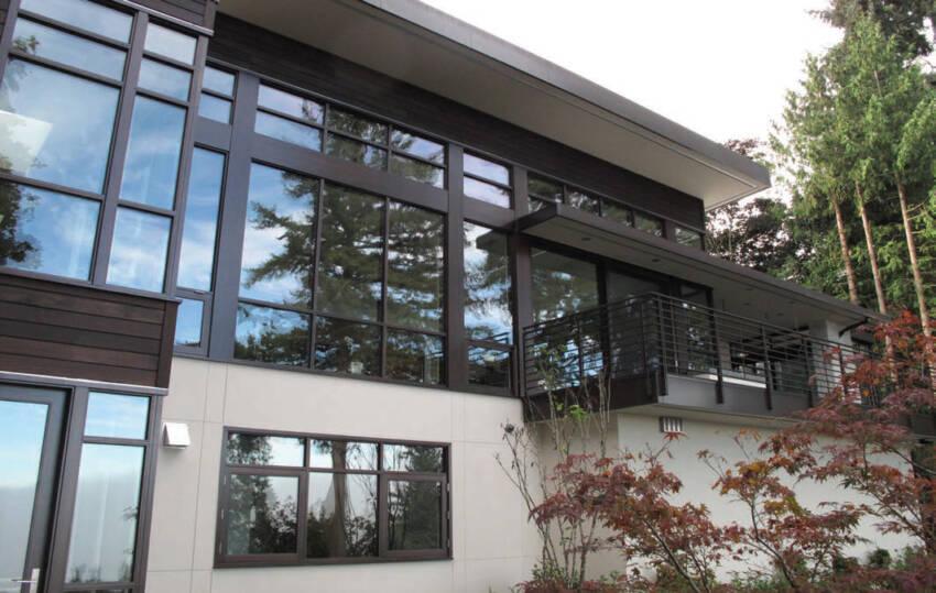 Kuća sa prozorima