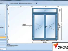 Prozorski element u softveru LogiKal