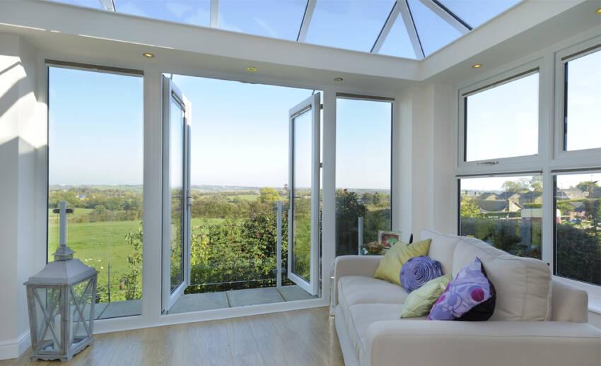 Staklene površine na fasadi mogu biti različitih dimenzija