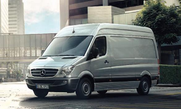 Mercedes-beny teretno vozilo