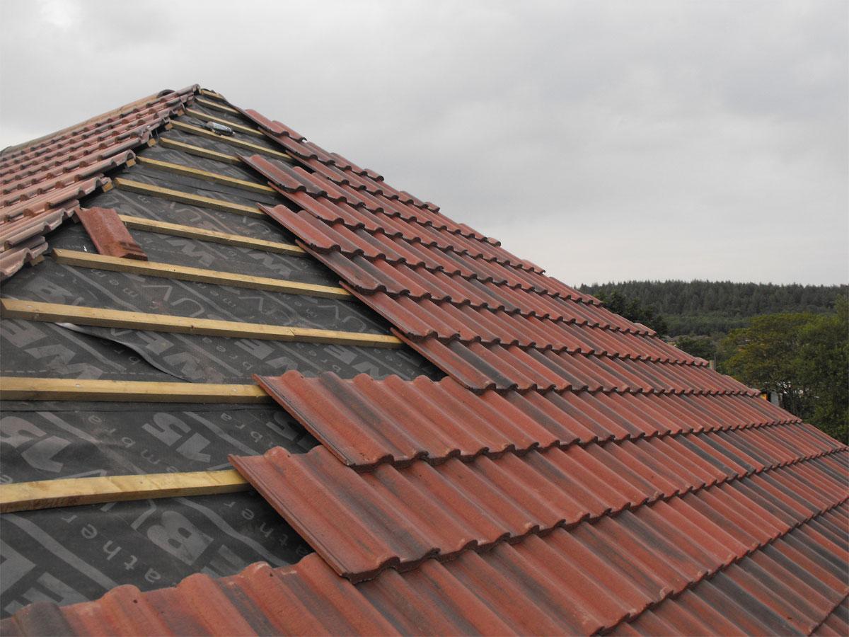 Postavljanje novog krova