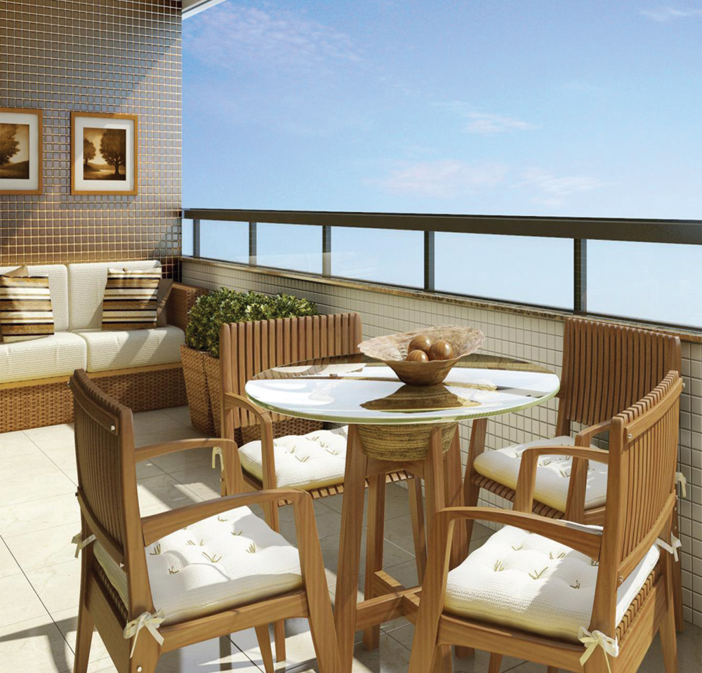 Veranda je jedan savršeni kutak stana ili kuće