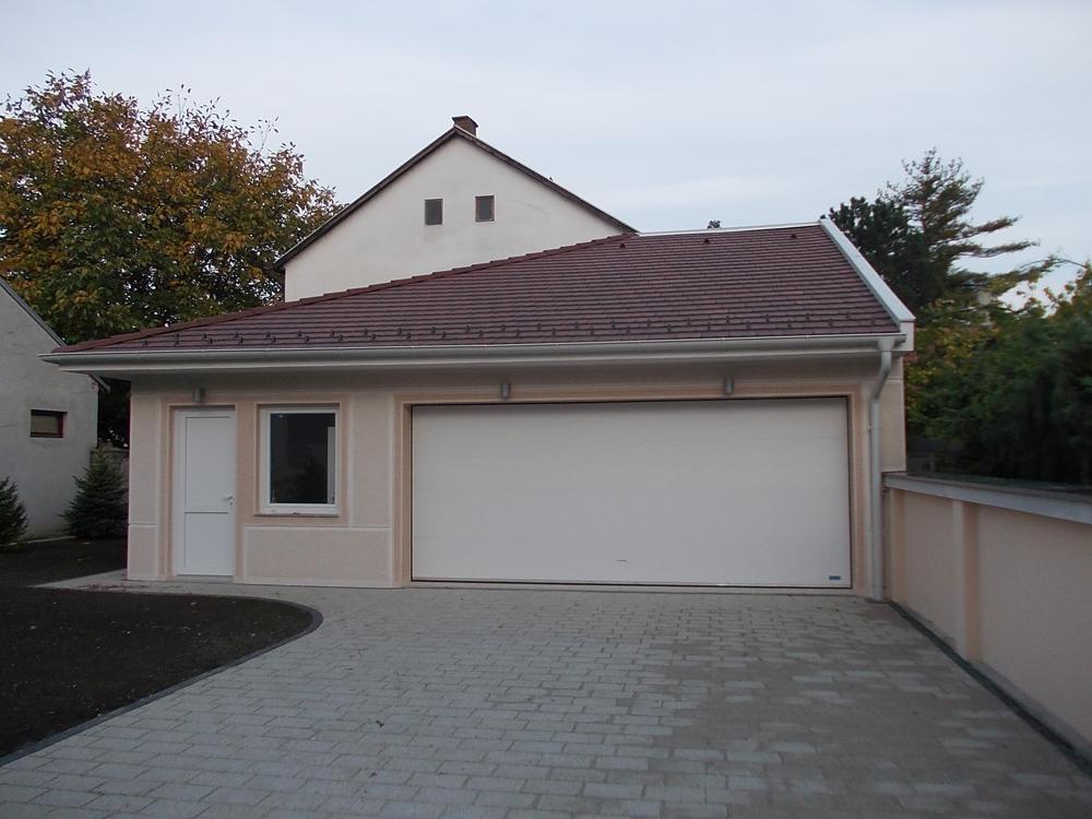 Jednokrilna staklena garažna vrata
