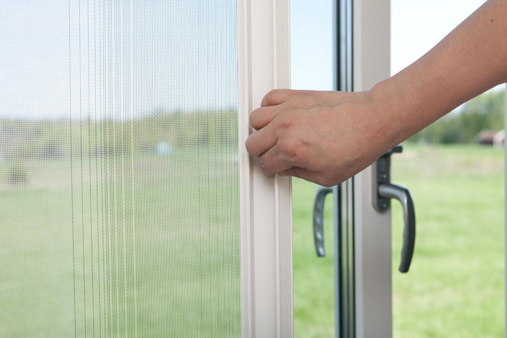 Rolo komarnik za dupla balkonska vrata