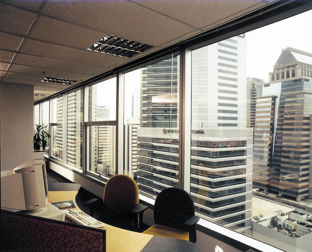 prozori zaštićeni folijom manje uključivati klima uređaj