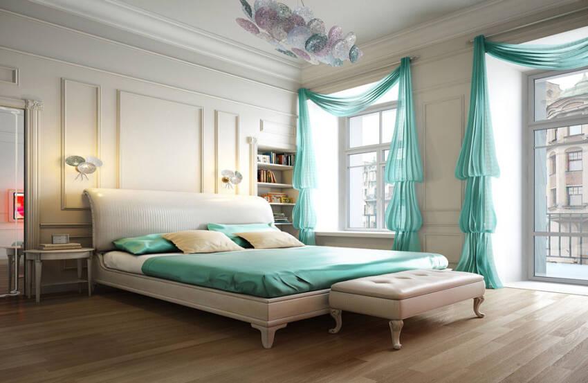 Zavese kao dekorativni elemenat vaše spavaće sobe