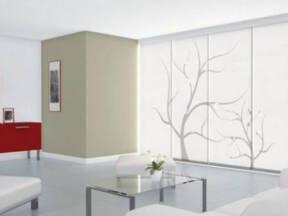 Japanske zavese za prozore u enterijeru