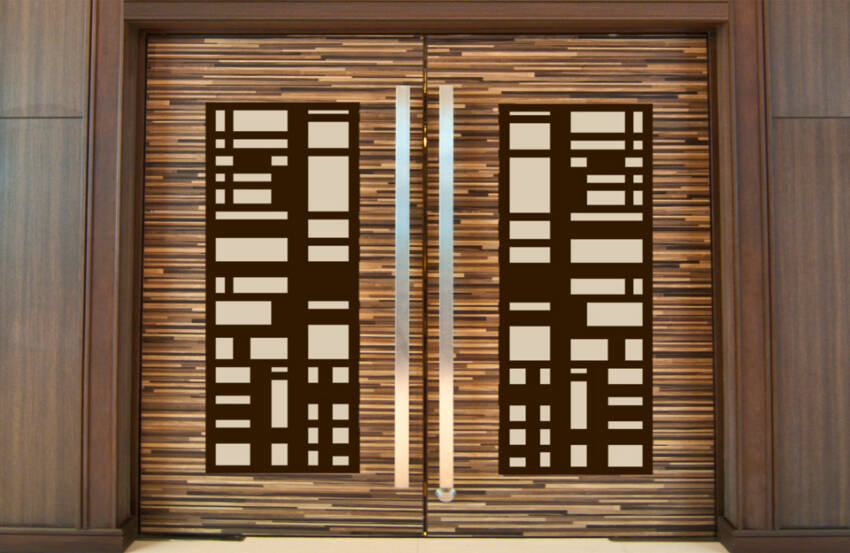 Dekorativni paneli kao ulazna vrata