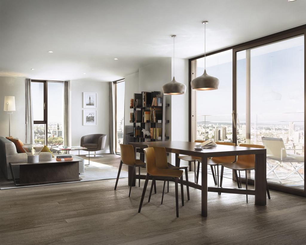Stakla za najnoviji projekat izgradnje nebodera u Londonu