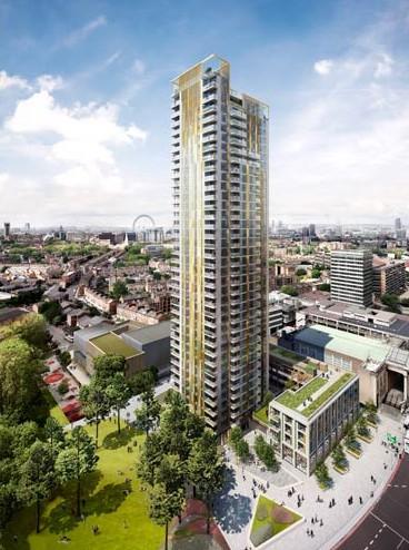 Stakla PRESS GLASS za nebodere u Londonu