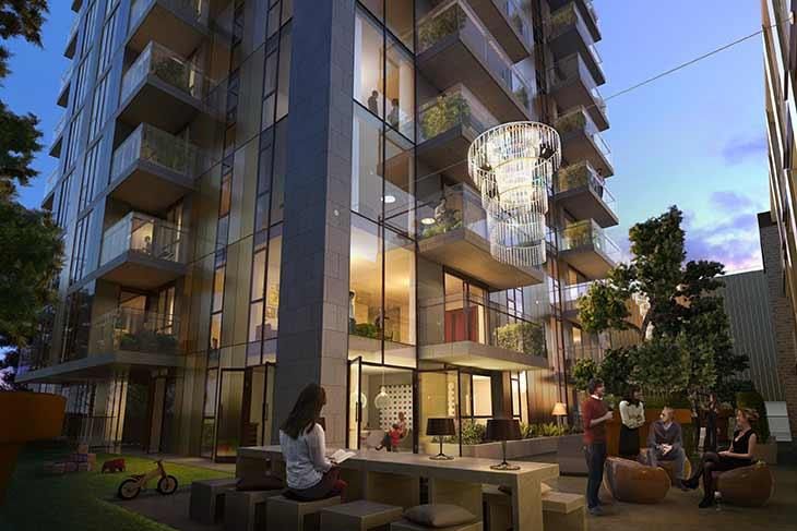 Investiciju građevinskog projekta vodi firma Mount Anvil