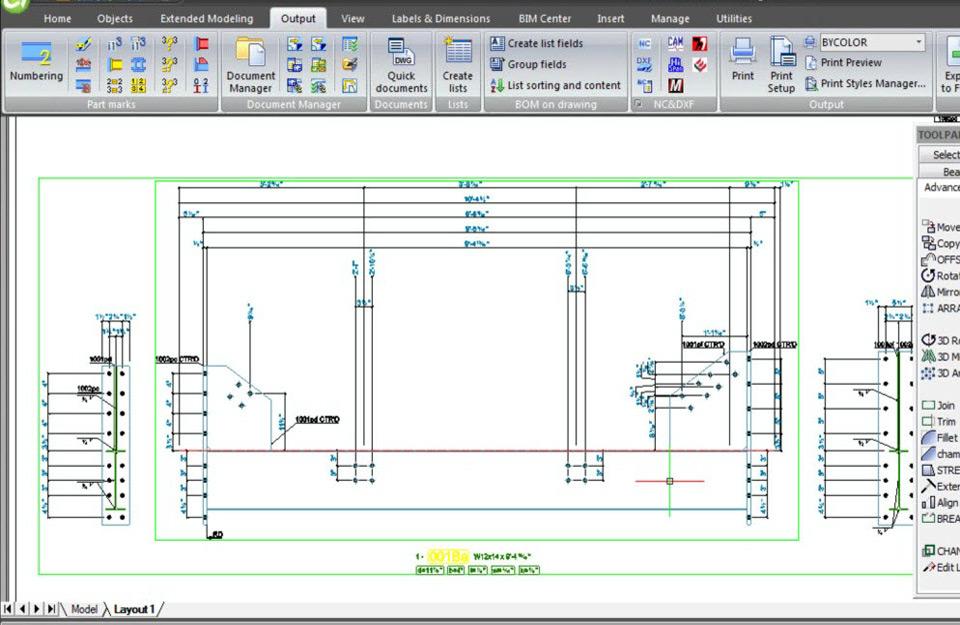 Čelične konstrukcije u softveru