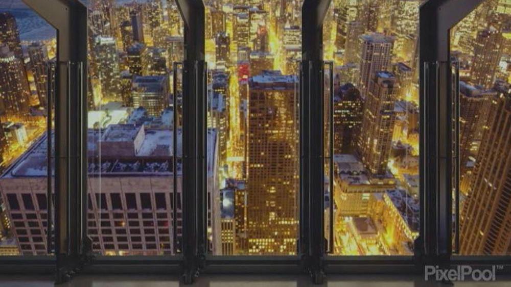 Noćni pogled na grad