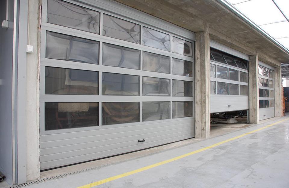 Paneli za segmentna vrata u obiku panoramskog motiva