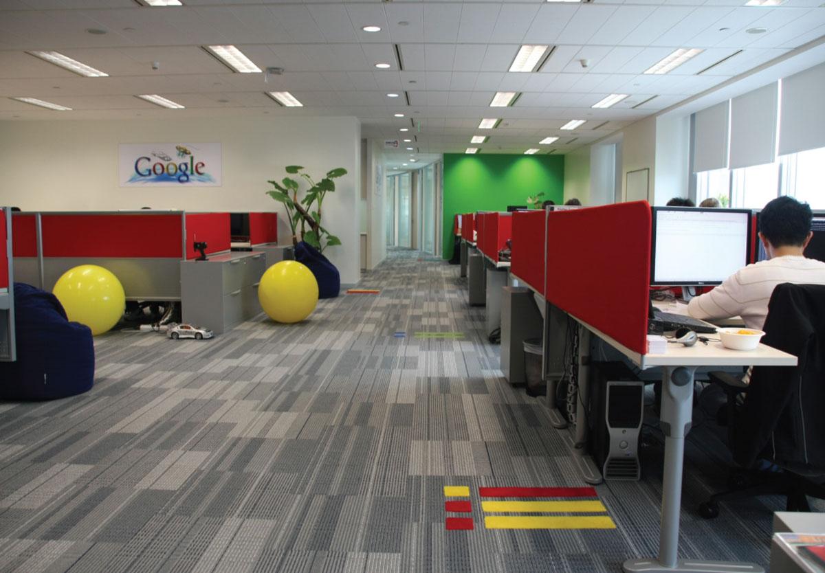 Kancelarije prepune boja, kontrasta, ostvarenih dizajnerskih i arhitektonskih snova