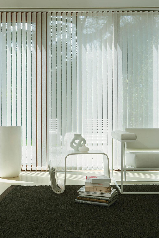 Posebno zanimljiv efekat ima kombinacija zavesa i panela