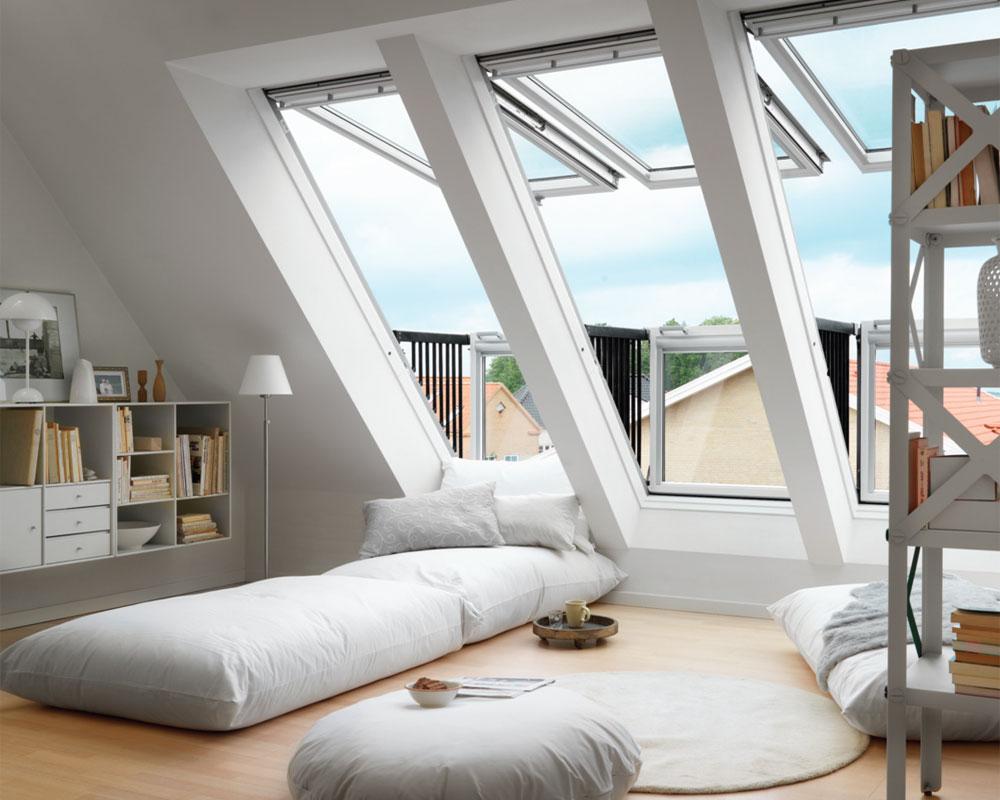 U dva poteza krovni prozor pretvori u balkon
