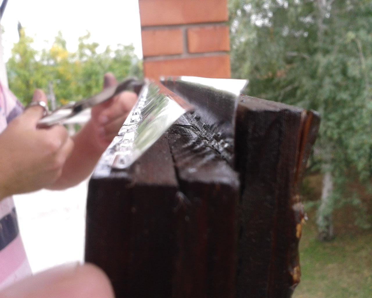 Aluminijumske lajsne se postavljaju na okvir prozora ili vrata