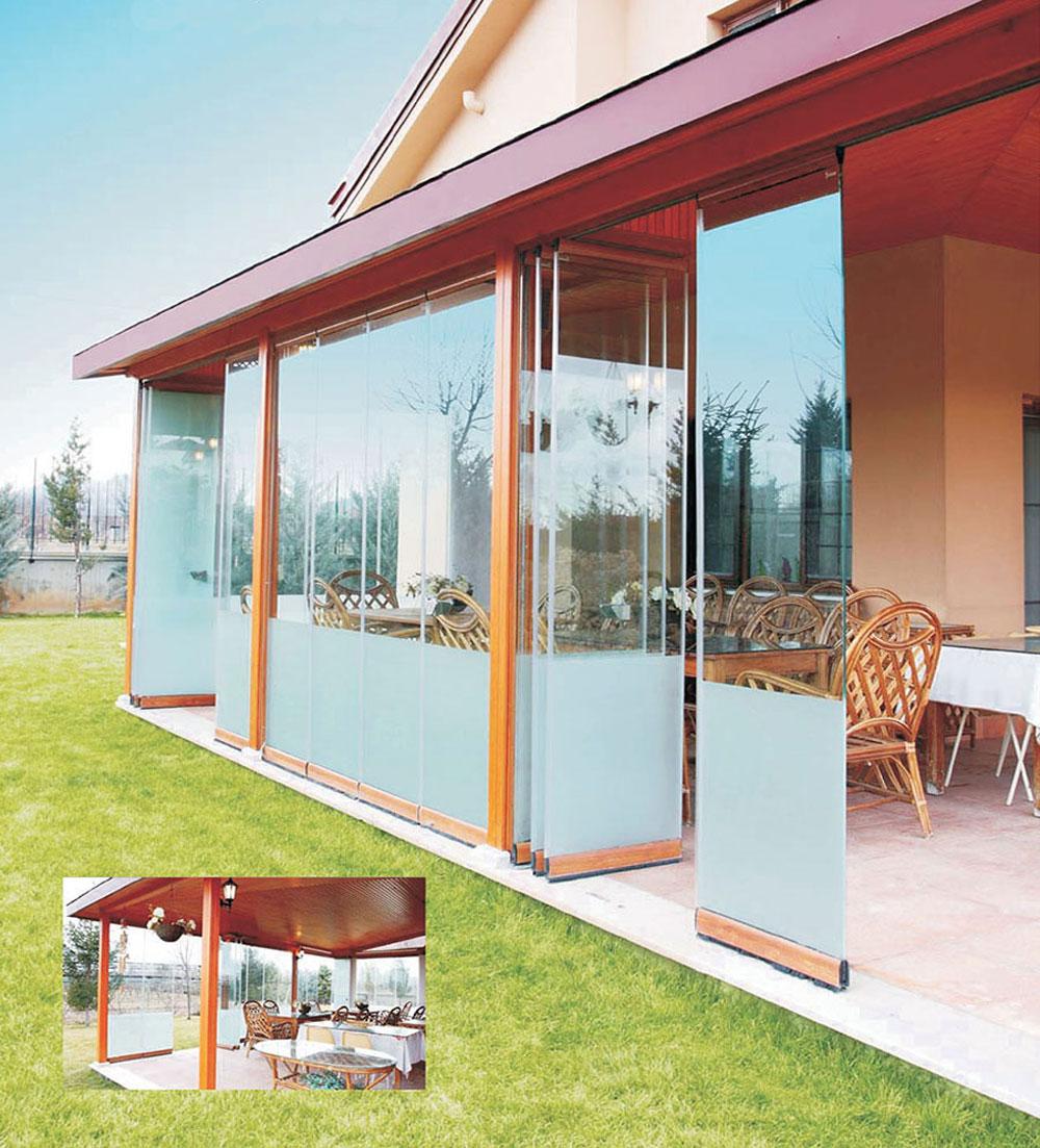 Sistem staklenih balkona