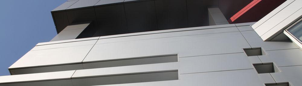 Ventilirana fasada sastoji se od noseće metalne podkonstrukcije