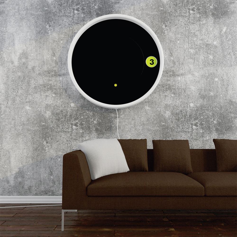 Saturn zidni sat