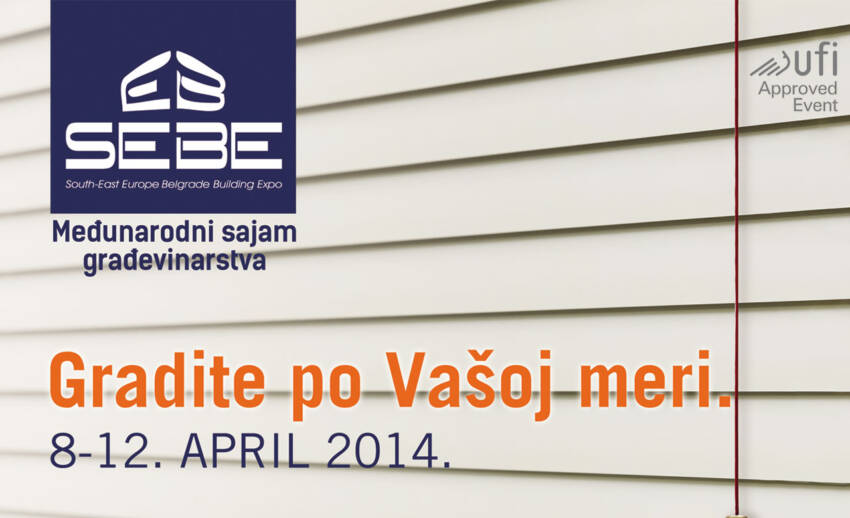 Jubilarni 40. Međunarodni sajam građevinarstva SEEBBE