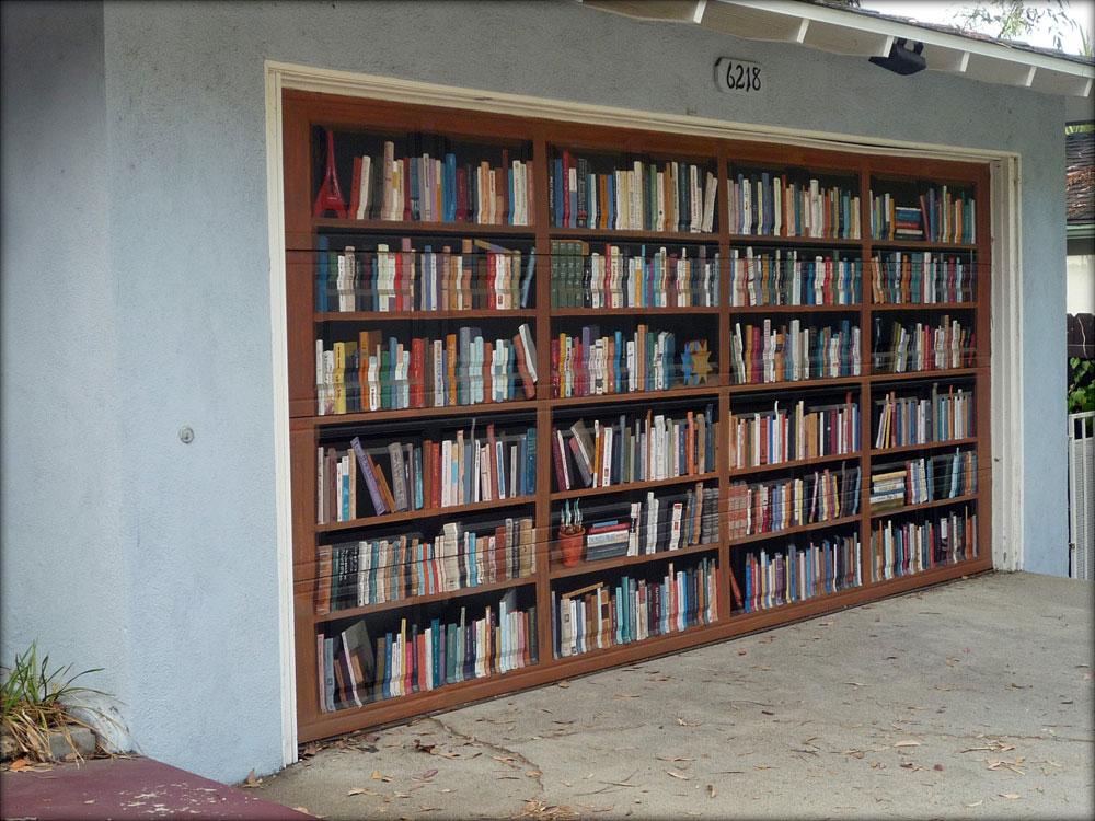 Zanimljiva garažna vrata