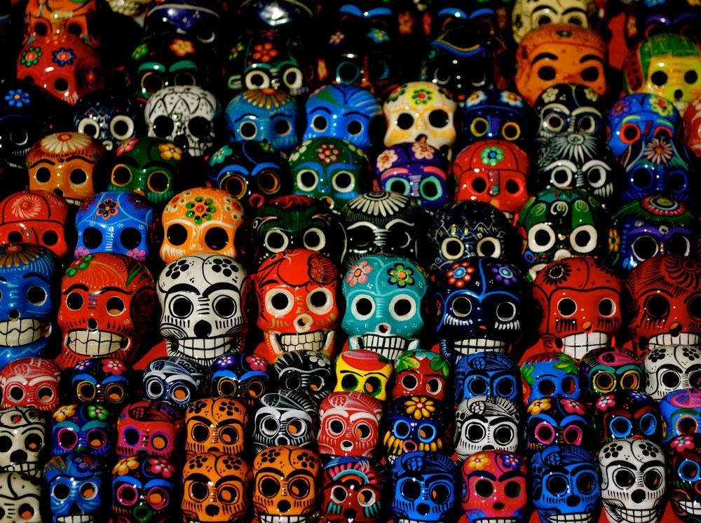 Tradicionalne maske u jarkim bojama