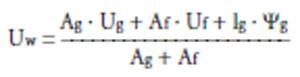 Izračunavanje vrednosti Uw