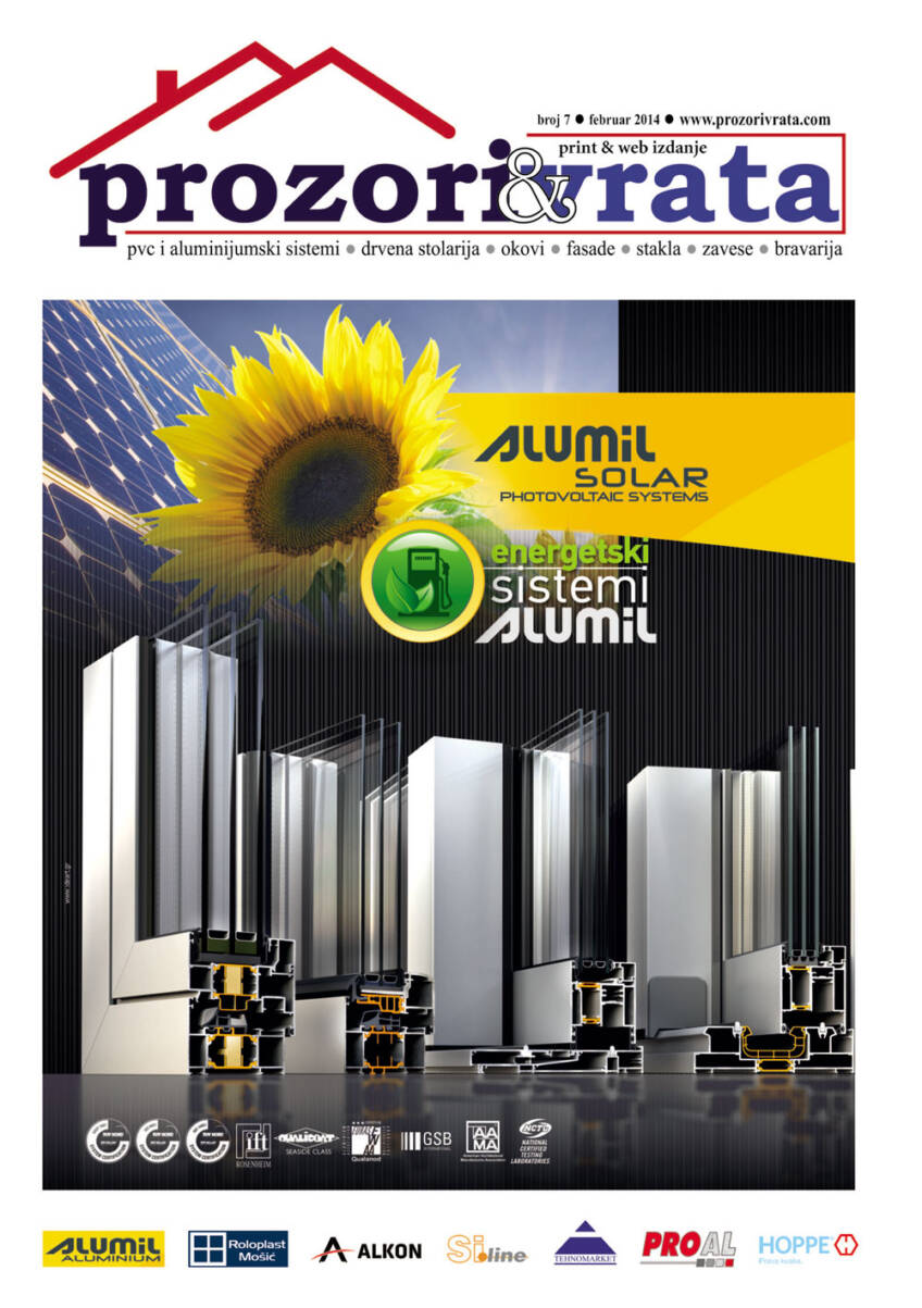 Časopis PROZORI&VRATA br. 7