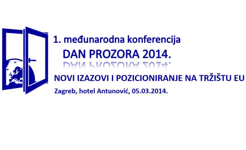"""1. međunarodna konferencija """"Dan prozora 2014."""""""