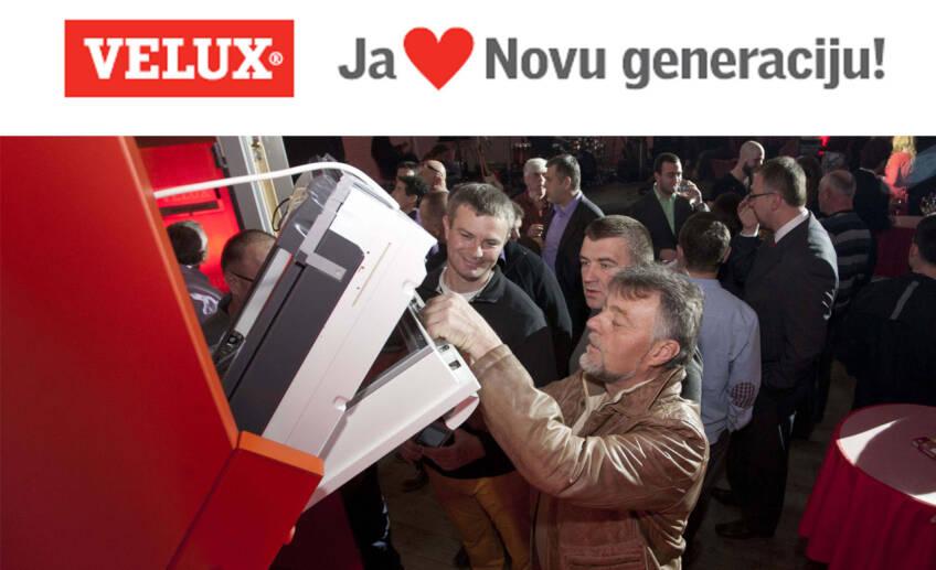 Nova generacija VELUX krovnih prozora je lansirana!
