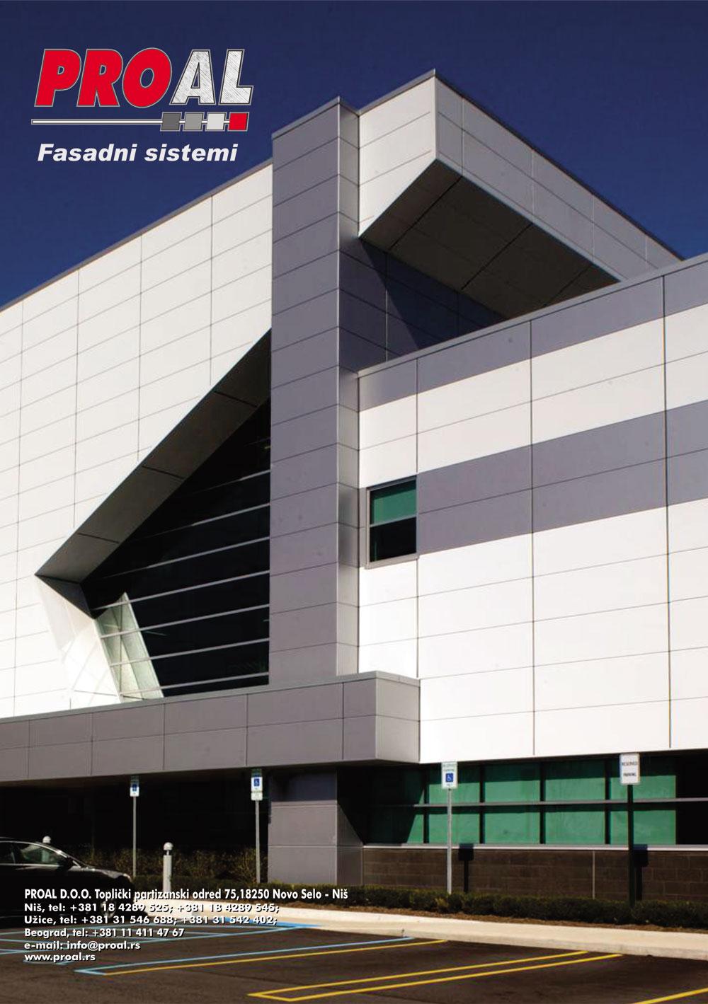 PROAL fasadni sistemi