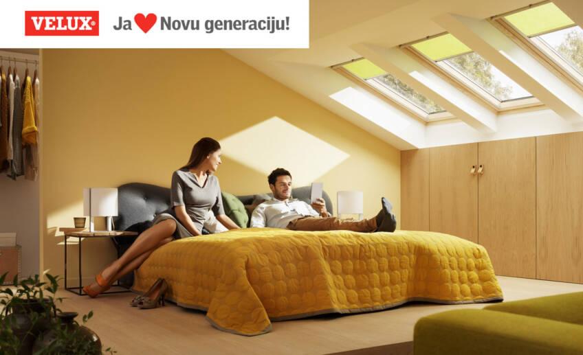 Nova generacija VELUX krovnih prozora